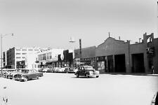 Old Photo.  Salina, Kansas.  Santa Fe Ave - autos