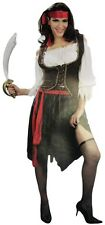 Pirate Wench Deluxe Adult Woman One Size Halloween Costume Party Cosplay Outfit