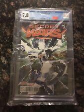Secret Wars #9 of 9  Marvel Comics CGC 9.8