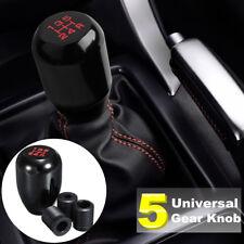 Black Aluminum 5 Speed Manual Shift JDM Knob Gear Shifter Stick Nob Universal