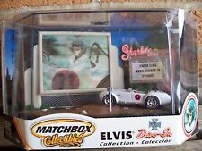 """MATCHBOX 1965 SHELBY COBRA 427 S/C, ELVIS DRIVE-IN """"SPINOUT"""", 1:64, MIB"""