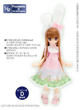 Azone Picconeemo Picco D Easter Dress Set of Ribbon Usagi-san Milky Pink 1/12