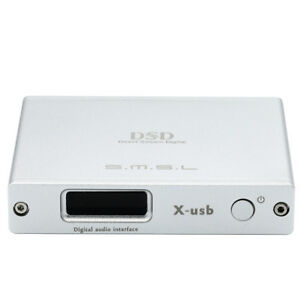 SMSL X-USB II XMOS XU208 USB Digital interface Converter DAC/768KHZ DSD512 I2S