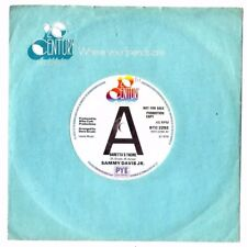"SAMMY DAVIS JR.BARETTA'S THEME / I HEARD A SONG.UK ORIG SOUL 7"" ""PROMO"".EX++"