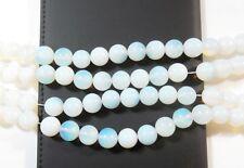 38 MONDSTEINE 10mm Perlen Edelstein Halbedelstein KUGEL Beads Gem New D90B