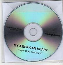 (AS389) My American Heart, Boys! Grab Your Guns - DJ CD