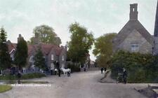 Chapel Brampton Corner  Nr Northampton old postcard used 1910 by Bax