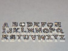Floating Locket Charm Charms Owl New Jewelry  complete Alphabet Letters Letter