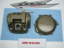 2007 TRX 450ER 450R SUPER NICE HEAD AND CLUTCH COVER 450 R *