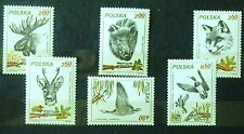 POLAND-STAMPS MNH 1Fi2602-07 Sc2450-55 Mi2746-51 - Hunting - 1981, clean