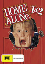 HOME ALONE 1-2 1+2: Lost In New York DVD 2-CHRISTMAS MOVIES 2-DISCS BRAND NEW R4
