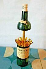 More details for vintage black & white whiskey bottle musical  cigarette holder