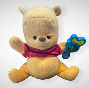 Winnie The Pooh Magic Rattle Talking Moving Interactive Soft Toy By Fisher Price