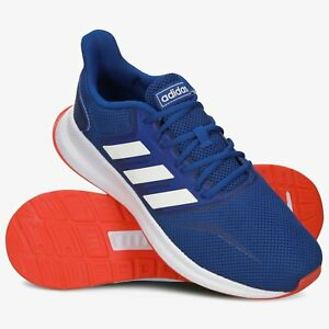 Adidas Runfalcon Mens men's shoes running trainers blue EF0150