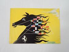 Original Ferrari 250 MM Mille Miglia Sales Brochure Pamphlet Handbook 166 212
