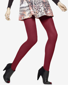Hue Womens Opaque Tights Size 2