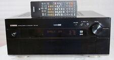 Yamaha dsp-ax2 (ax 2) High End surround/Av amplificador en negro! SN: