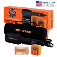 TAME'S ELITE BEARD STRAIGHTENER BRUSH - Anti-Scald Beard Straightening Comb