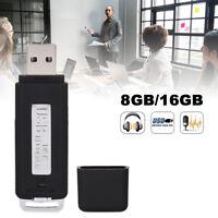 2 En 1 Clé USB 16GB Enregistreur Mini Flash Mémoire Stick Pour PC Smartphone BR