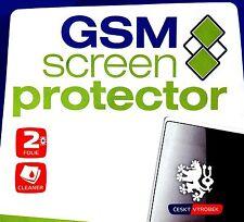 GSM Screen Protector für Nokia C7 - 2 Displayschutzfolien und 1 Reinigungstuch