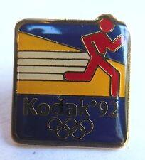 VTG--1992 OLYMPICS KODAK PIN--Collectible Hat Souvenir Pin