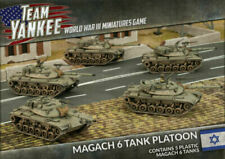 Team Yankee: Oil Wars Israeli Magach 6 Platoon FOW TIBX02