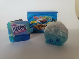 Rare Shopkins Real Littles Limited Edition Ice Blue Choco Waffle LTD 5000