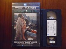 Woodstock I & II (Michael Wadleigh, Canned Heat) - VHS ed. Warner rara
