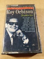 Roy Orbison : 20 Golden Hits : Vintage Tape Cassette Album from 1989