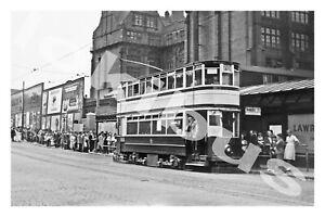 Bus Photograph BIRMINGHAM C.T. 631 Tramcar