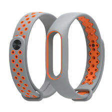 TPU Rubber Wrist Strap Sport Wristband Bracelet Replacement for XIAOMI MI Band 2