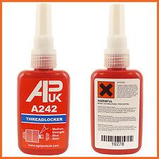 NEW APUK A 242 Like Loctite 50ml bottle Medium Locktite Threadlocker glue Henkel