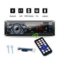 Car Stereo Audio Bluetooth In-Dash FM Aux 1 Din Receiver SD/USB/MP3 Radio Player