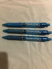 Drug Rep Nasacort Aq Collectible Gel Pens x 3 Rare