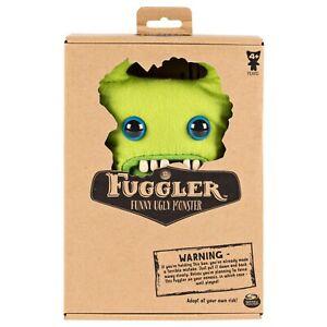 Spin Master FUGGLER Funny Ugly Monster Green Sir Horns A Lot Brand New Rare