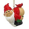 Christmas Ornament - Garden Gnomes Figurine - Loonie Moonie Gnome - Naughty Gnom