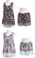 Vera Bradley PAJAMA TANK TOP & SHORTS SET - Choose your Design & Size (New)