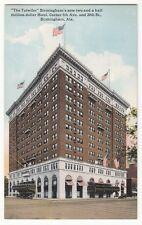 "[60599] Old Postcard ""The Tutwiler"" Hotel In Birmingham, Alabama"