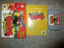 Pokemon Snap (Nintendo 64, 1999) Complete in Box GREAT