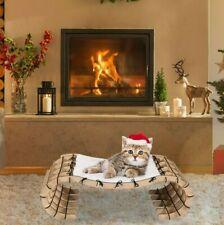Pet Kitten Cat Bed Lounger Sleep Hammock Playing Blanket House Indoor Outdoor