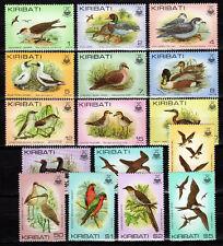 Kiribati - 1982 Definitives birds - Mi. 382-97 MNH
