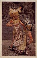 INDONESIEN Vintage Postcard Nederlandsch Indie um 1940/45 Natives Asien Asia