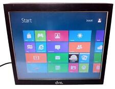 17 pollici Touch Screen incl. Core Duo completamente PC ALL IN ONE/superficie in vetro
