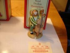 ROYAL DOULTON BUNNIKINS MADE IN ENGLAND BNIB  DOUBLE BASS PLAYER  LTD ED OF 2500