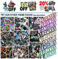 LEGO - 1 KG (X850 PC'S) CREATIVITY PACK(S) CHOOSE YOUR THEME! + FREE LEGO TOOL