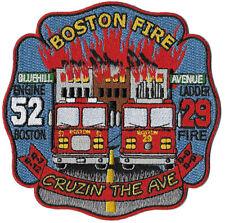 Boston Engine 52 Ladder 29 Cruzin Blue Hill Ave Fire Patch