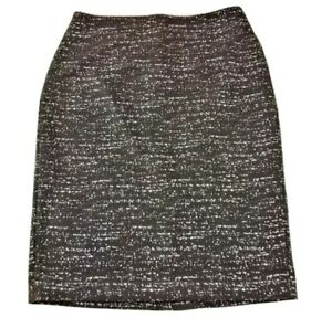 Vince Camuto Pencil Skirt Black Size 4 Carrier Skirt Polyester Blend office