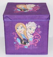 Disney Frozen Storage Box With Lid 35 x 35 x 35cm - FREE POSTAGE