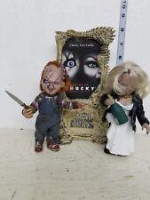 "McFarlane Movie Maniacs Bride of Chucky ""Chucky and Tiffany"" Figure LOOSE"