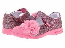 Pediped Flex Pink Glitter Mary Janes Girls Size -- 9 -- 9  1/2